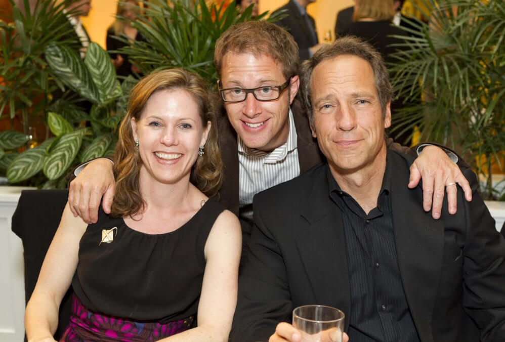 Mike Rowe and Sandy Dotson