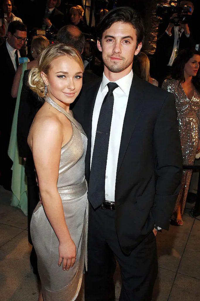 Milo Ventimiglia and ex girlfriend Hayden Panettiere