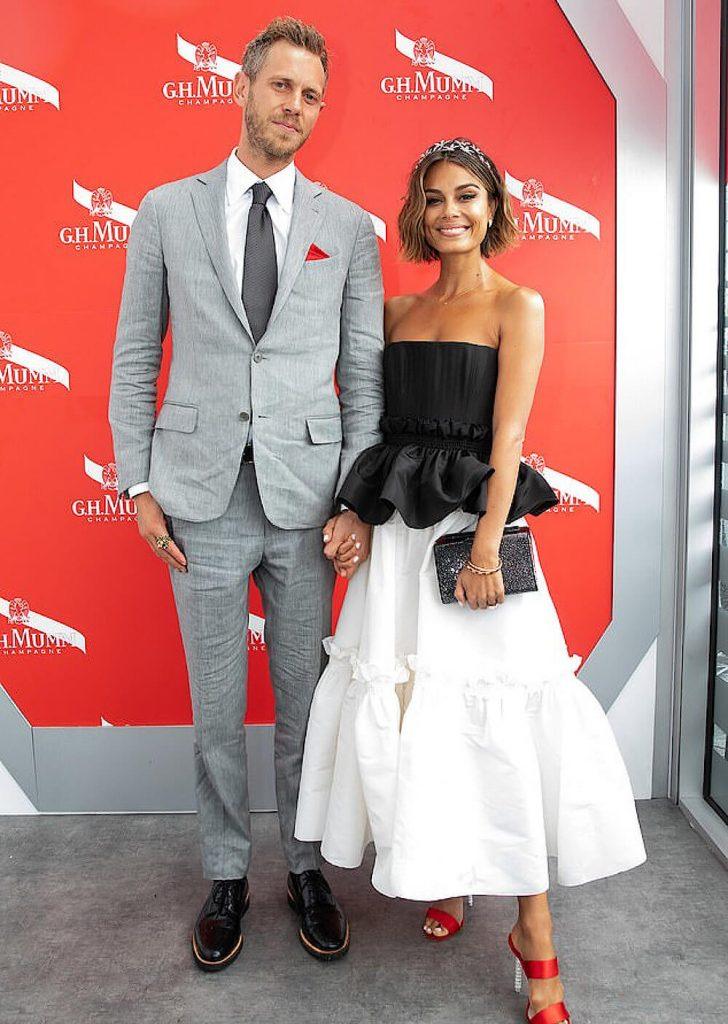 Nathalie Kelley and ex husband Jordy Burrows