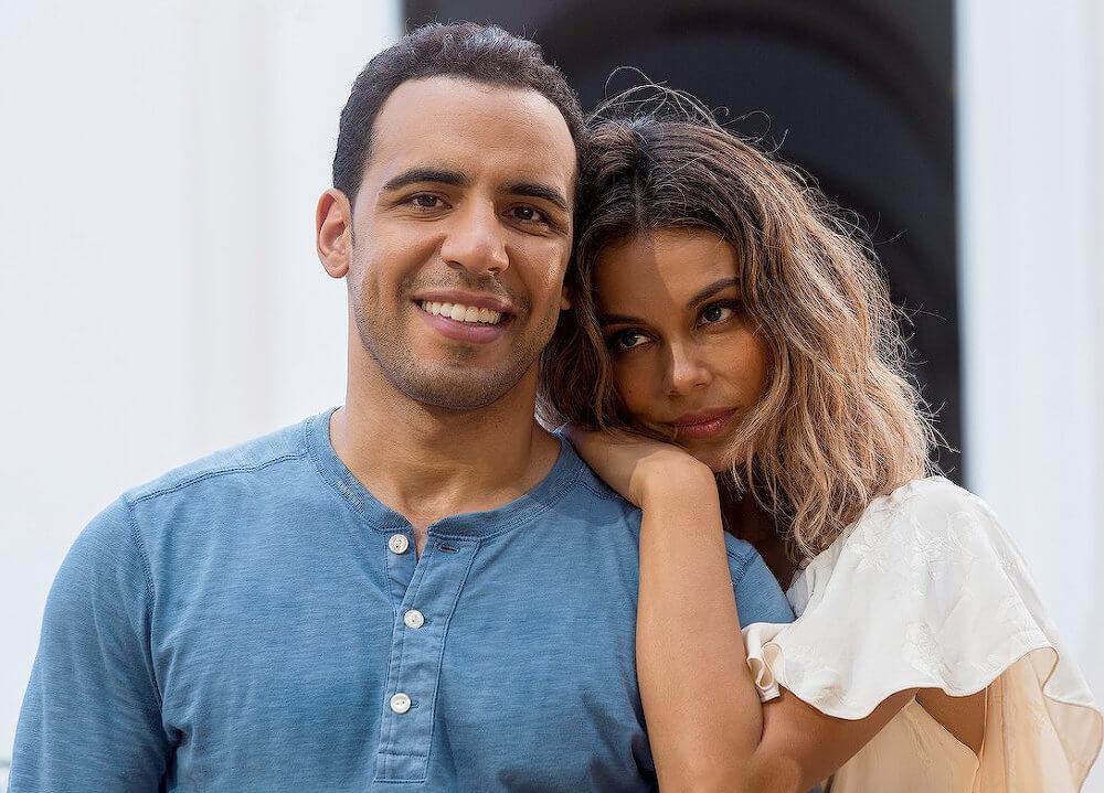 Nathalie Kelley and ex boyfriend Victor Rasuk