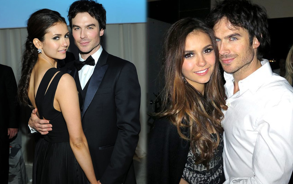 Nina Dobrev and boyfriend Ian Somerhalder
