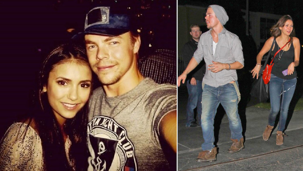 Nina Dobrev and ex Derek Hough