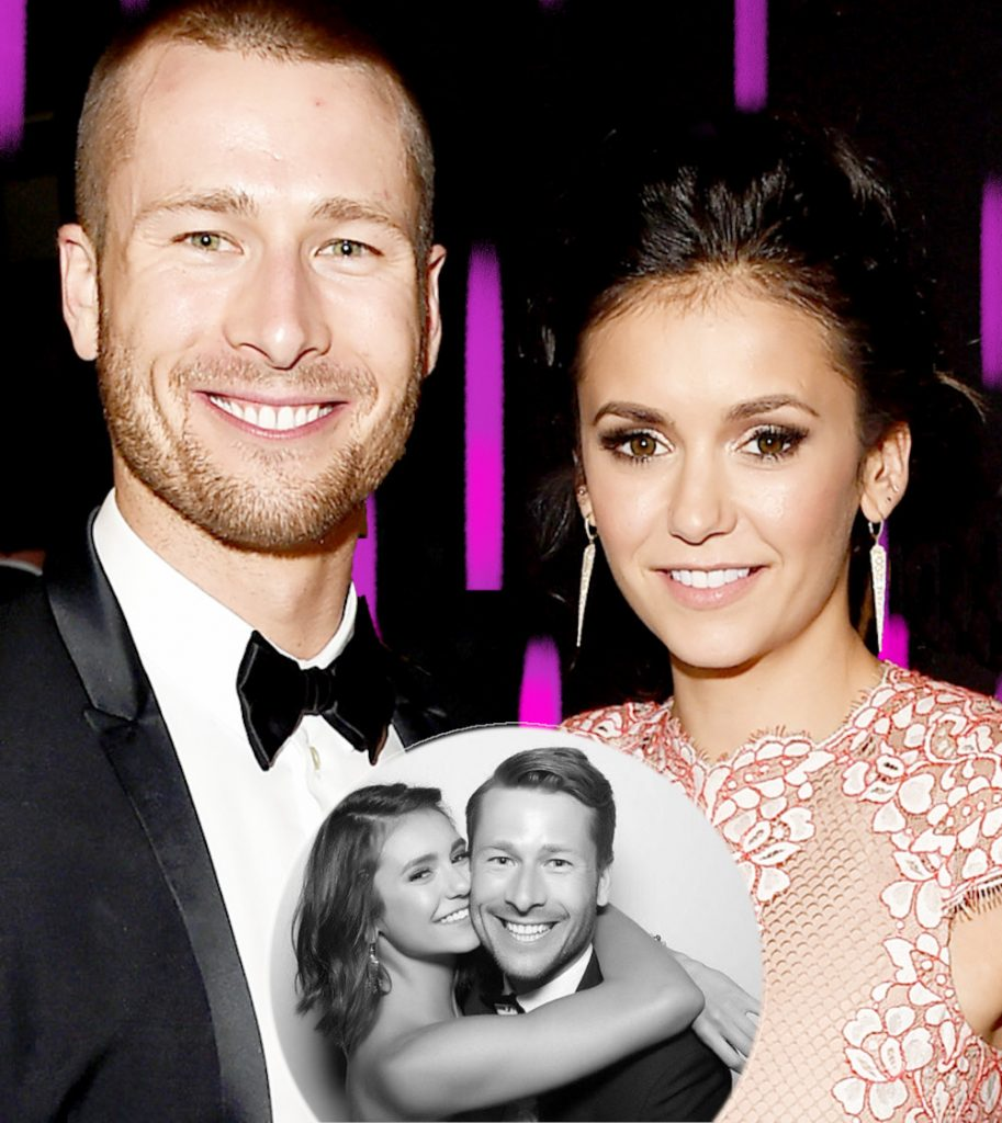 Nina Dobrev with ex Glen Powell