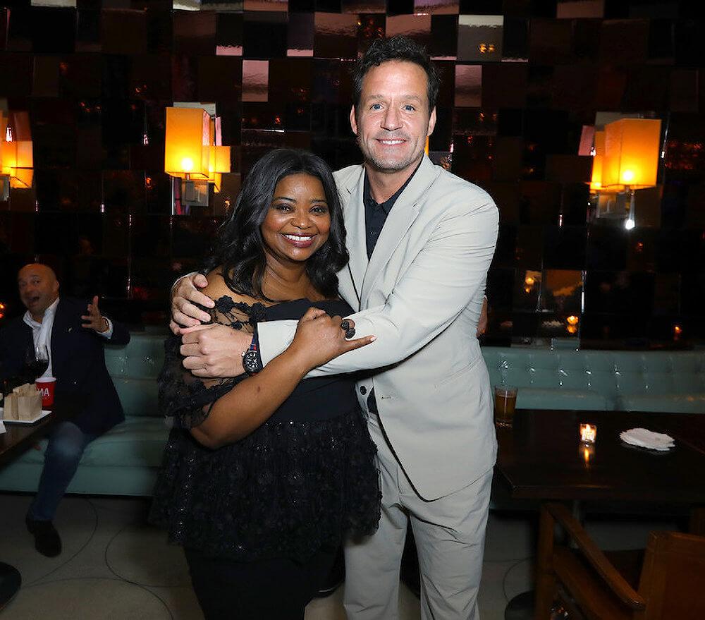Octavia Spencer and ex boyfriend Josh Hopkins