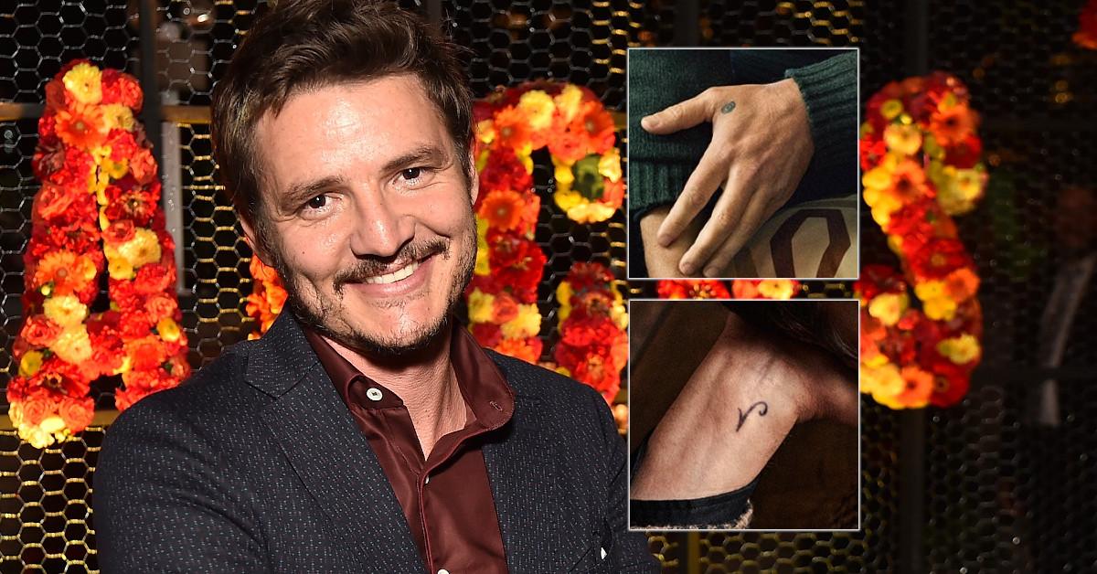 Pedro Pascal Tattoos
