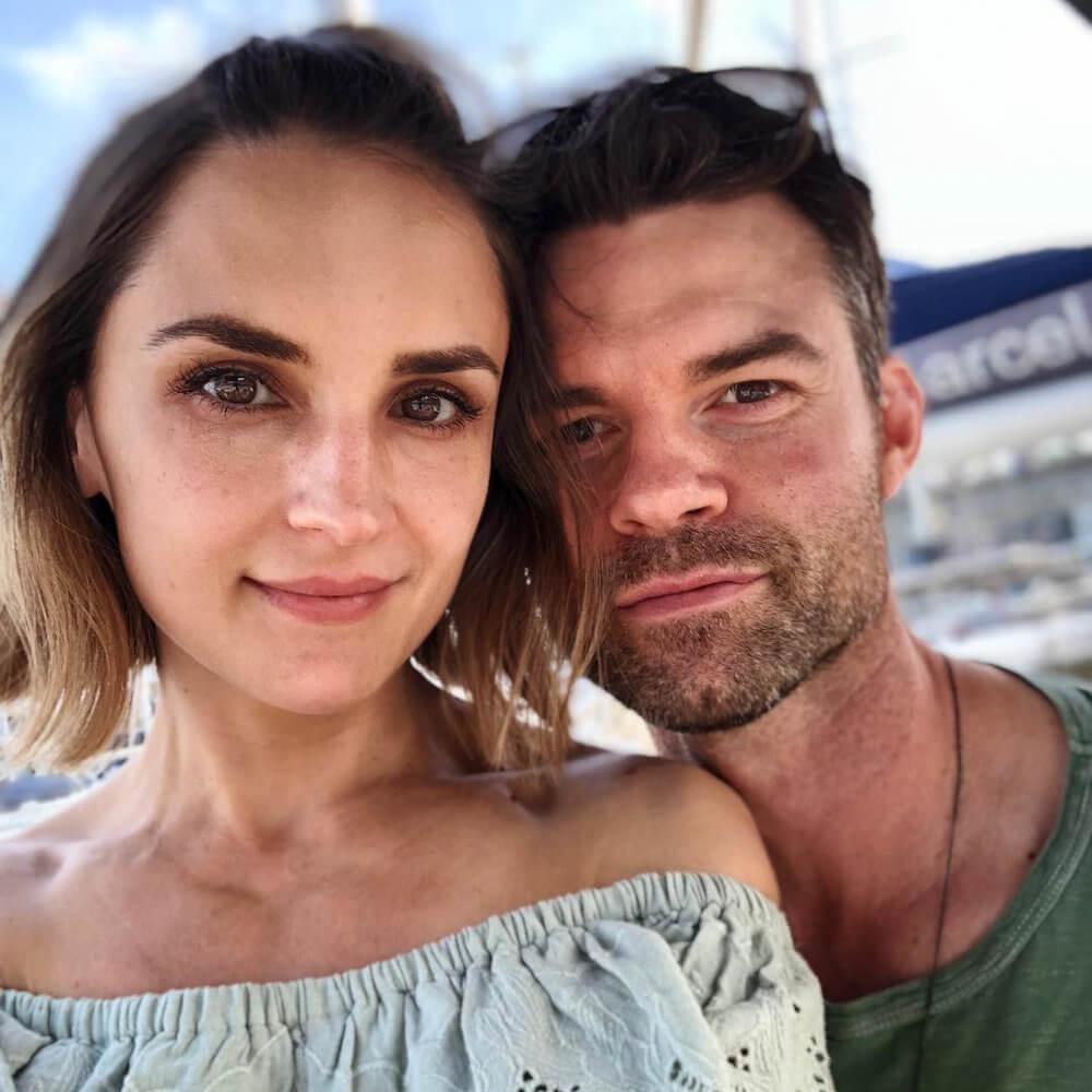 Rachael Leigh Cook and husband Daniel Gillies