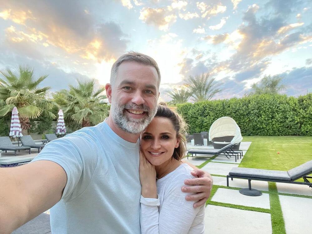 Rachael Leigh Cook and new boyfriend Kevin Mann