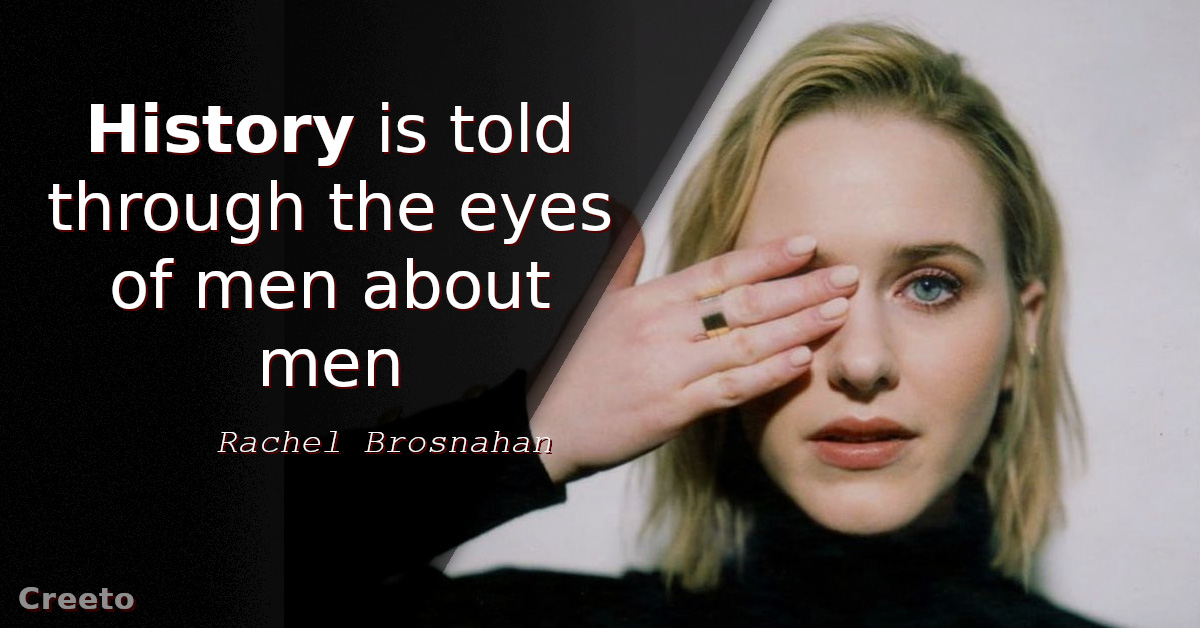 Top 12 Rachel Brosnahan Quotes & Sayings