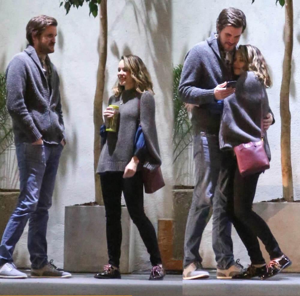 Rachel McAdams and ex boyfriend Jamie Linden