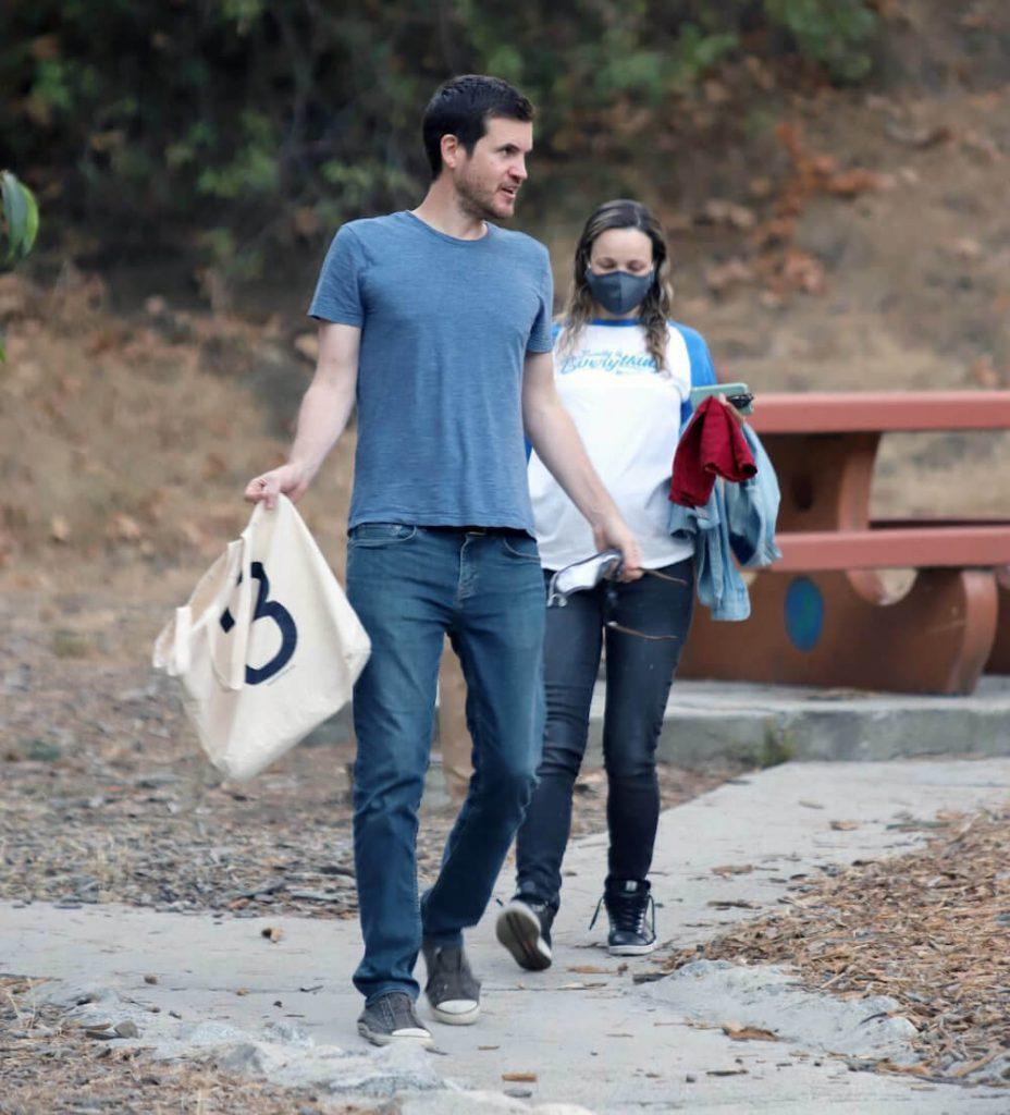 Rachel McAdams and her future husband Jamie Linden