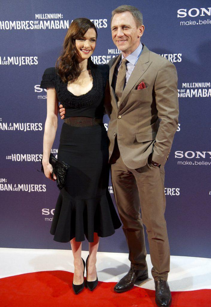 Rachel Weisz and husband Daniel Craig