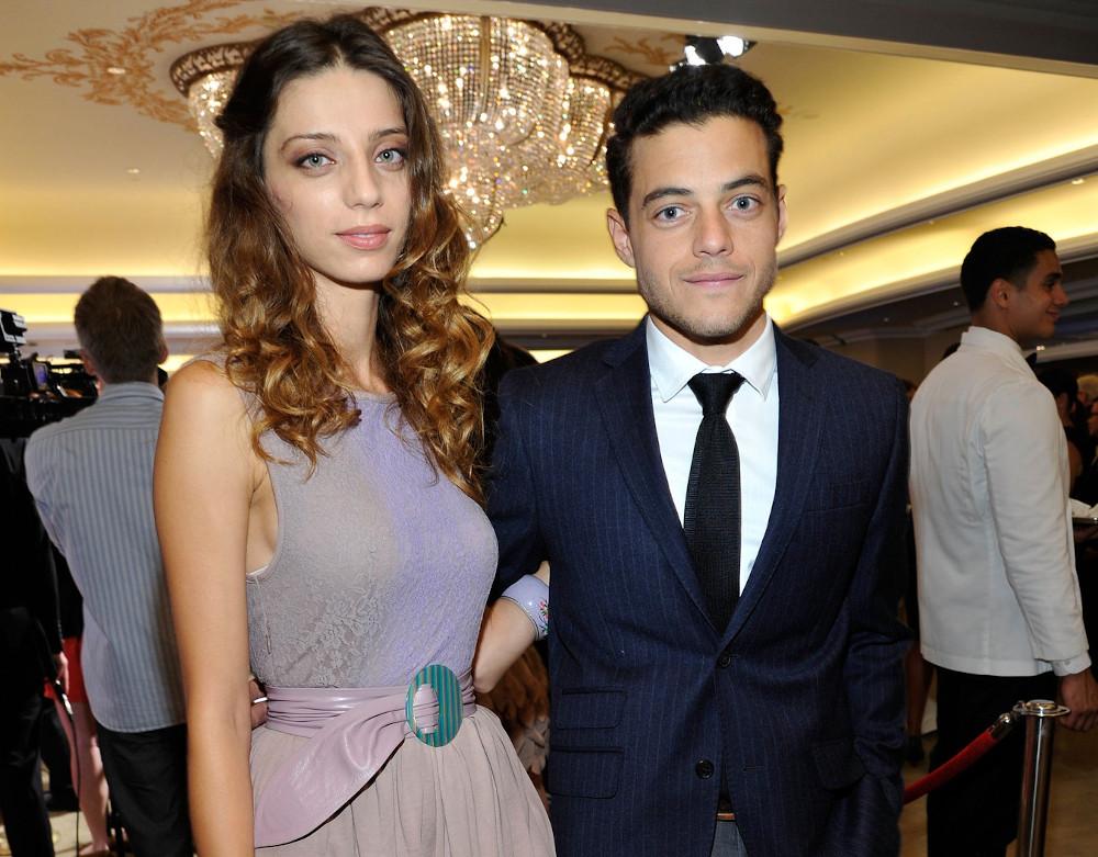 Rami Malek with ex girlfriend Angela Sarafyan
