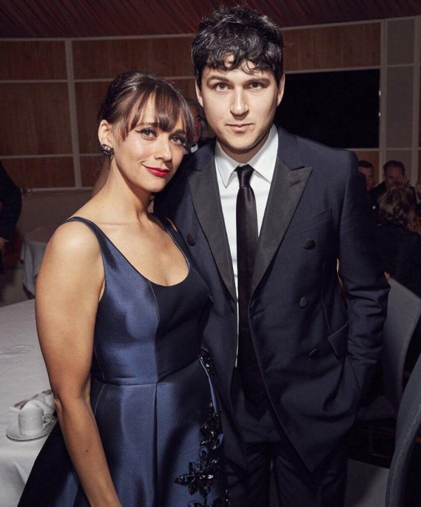 Rashida Jones and boyfriend Ezra Koenig