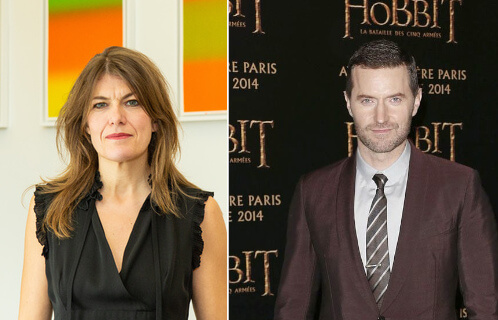 Richard Armitage and ex girlfriend Annabel Capper