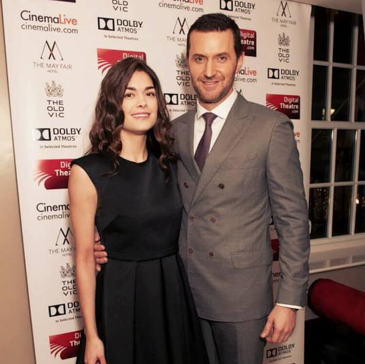 Richard Armitage and ex wife Samantha Colley