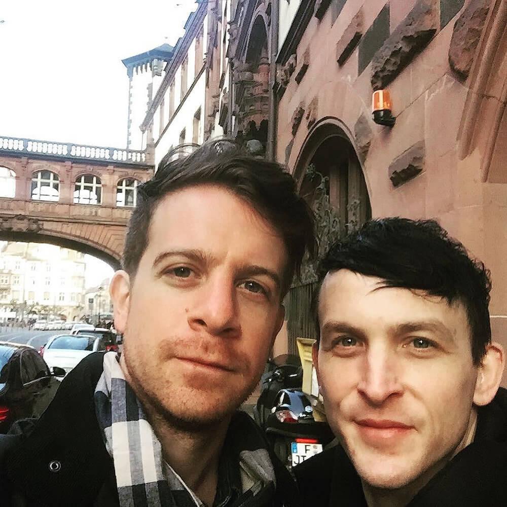 Robin Lord Taylor and Richard Dibella selfie