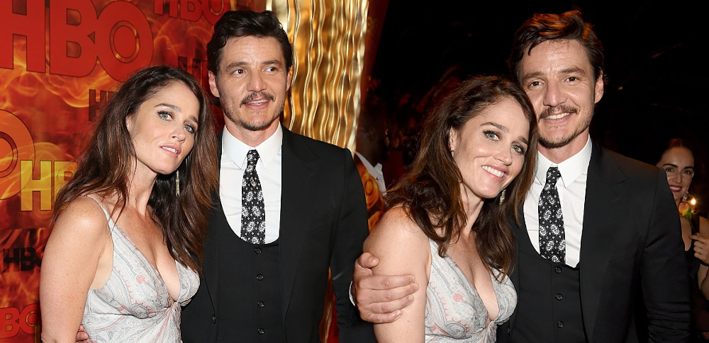 Robin Tunney with Pedro Pascal