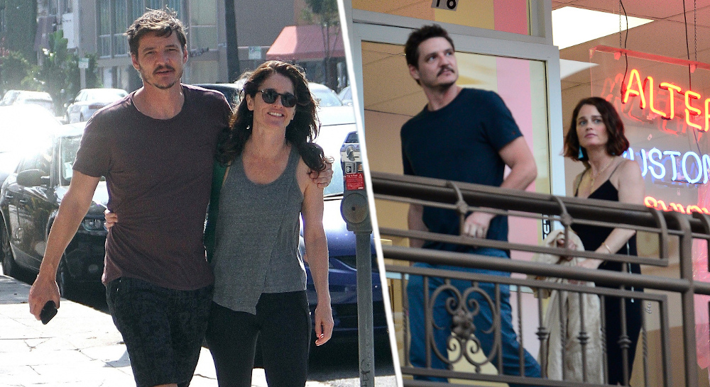 Robin Tunney and Pedro Pascal