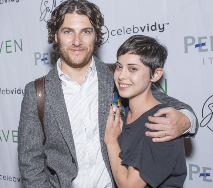 Rosa Salazar boyfriend Adam Pally