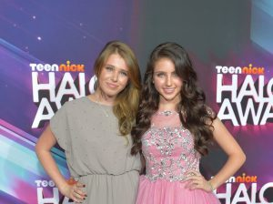Ryan Newman with sister, Jessica Newman