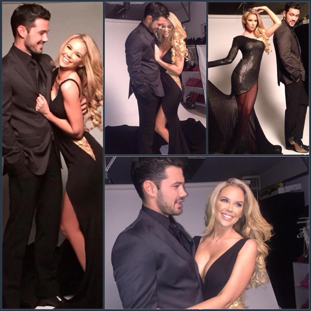 Ryan Paevey and girlfriend Jessica Hinton