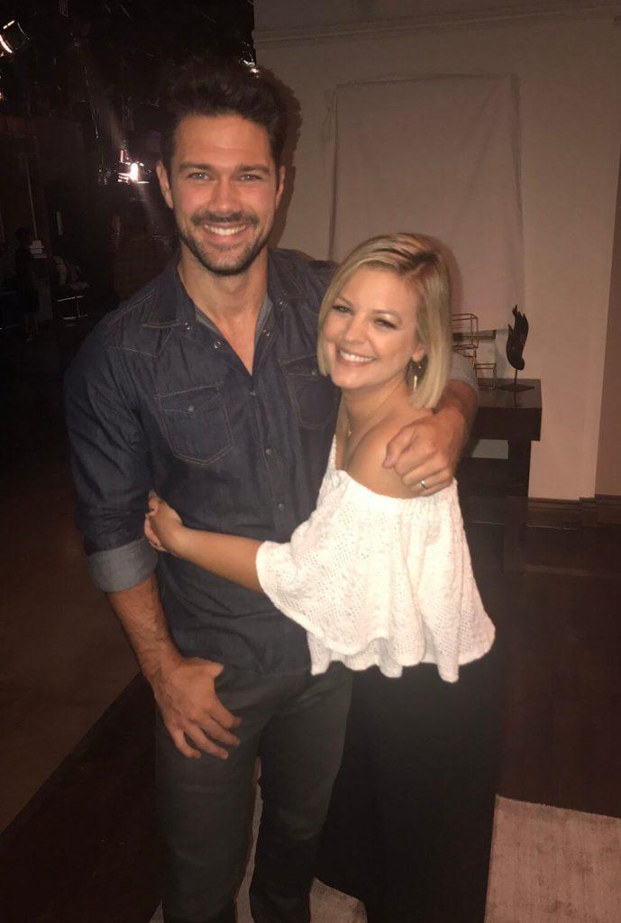 Ryan Paevey with ex girlfriend Kirsten Storms