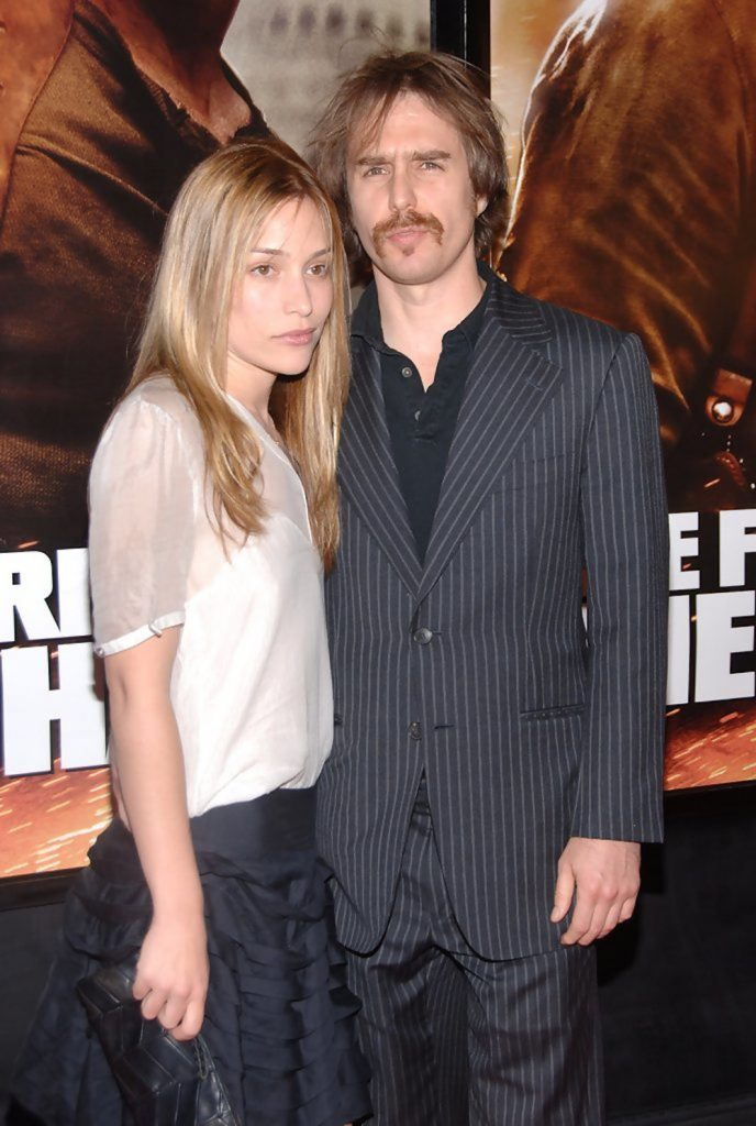 Sam Rockwell and girlfriend Piper Perabo