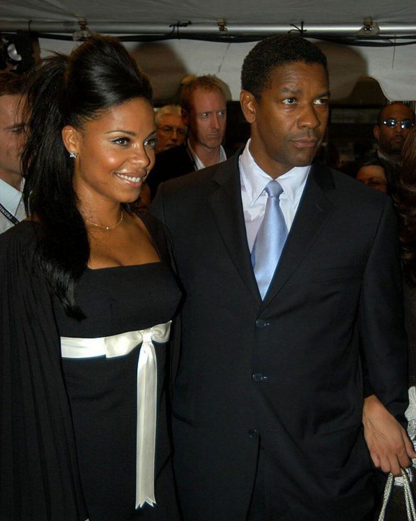 Sanaa Lathan and ex Denzel Washington