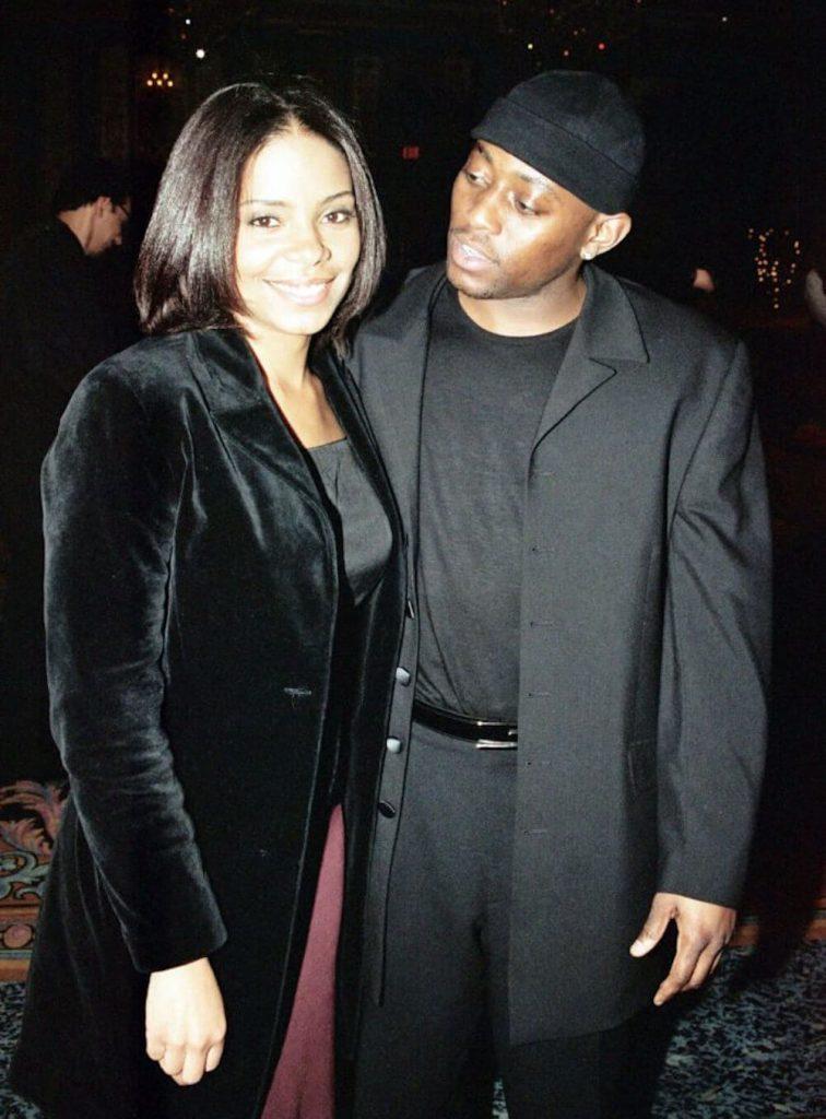 Sanaa Lathan and Omar Epps