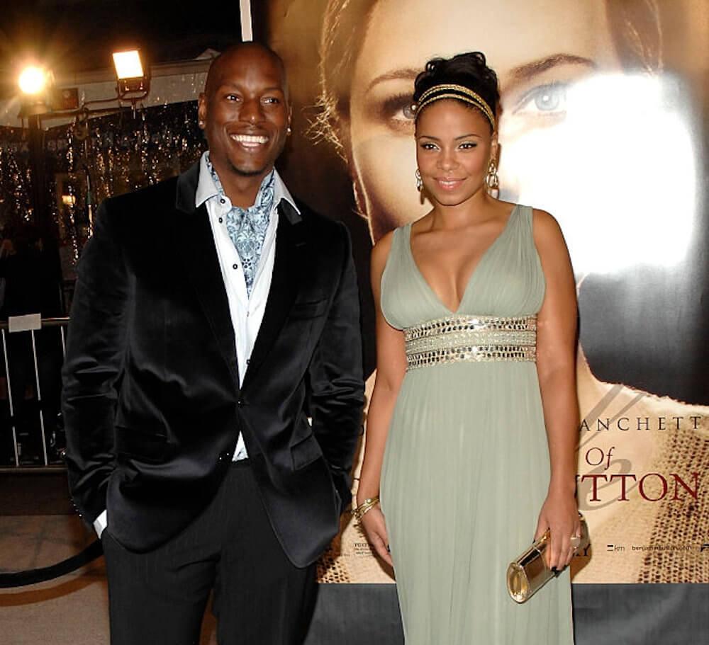 Sanaa Lathan and Tyrese Gibson