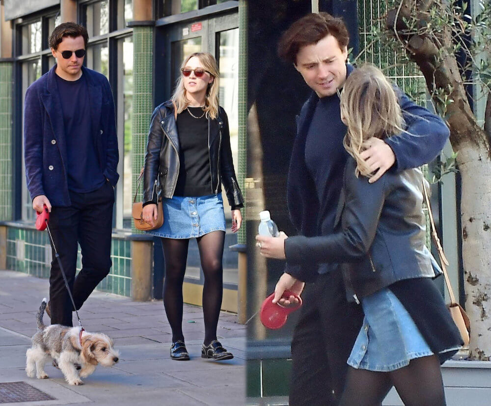 Saoirse Ronan and boyfriend Jack Lowden