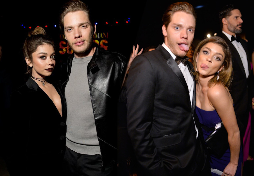 Sarah Hyland with boyfriend Dominic Sherwood