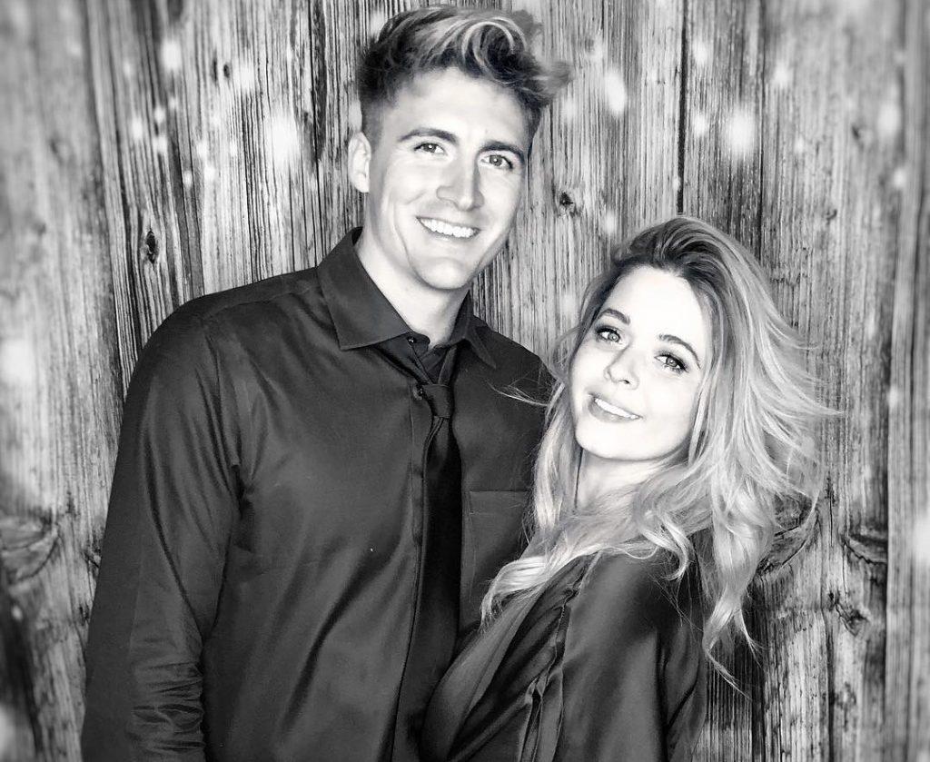 Sasha Pieterse with her Husband Hudson Sheaffer