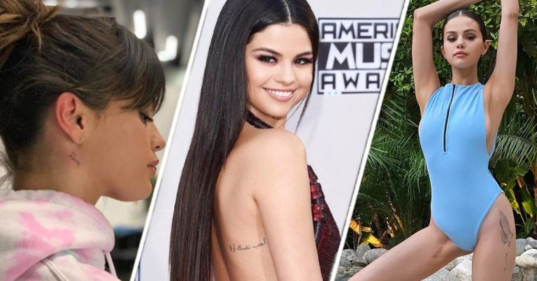 Selena Gomez all 15 Tattoos and Meanings