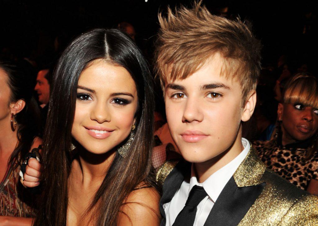Selena Gomez with boyfriend Justin Bieber