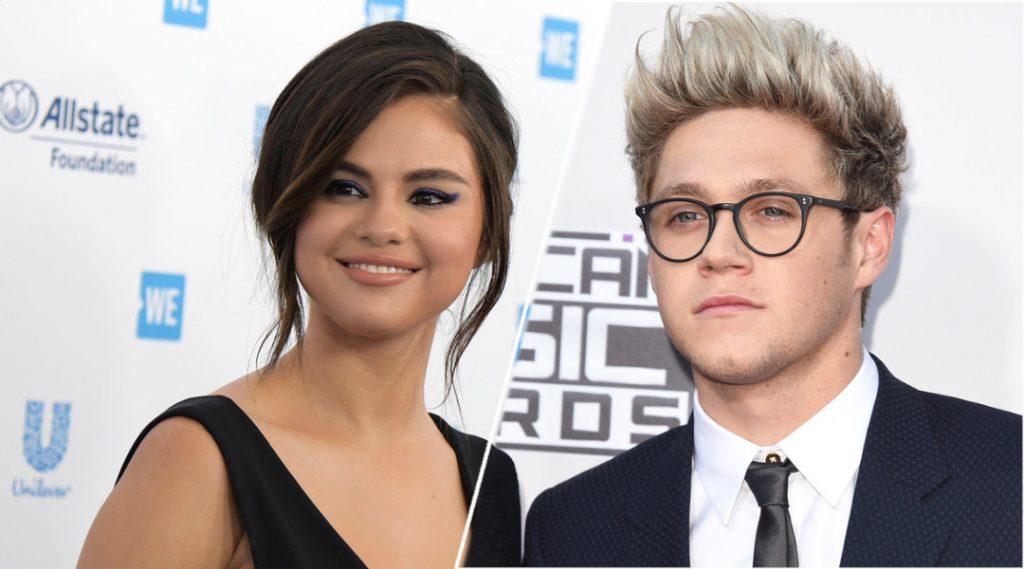 Selena Gomez with Niall Horan