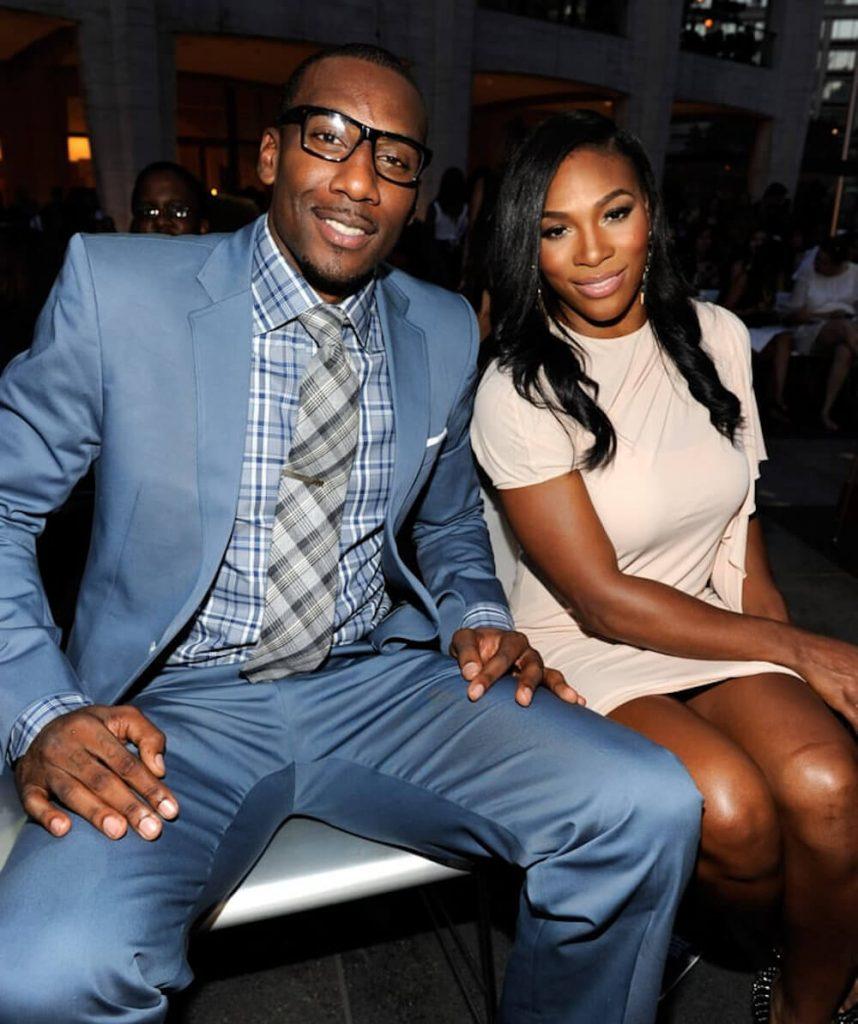 Serena Williams and ex boyfriend Amar'e Stoudemire
