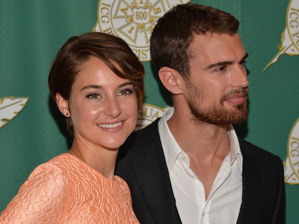 Shailene Woodley and ex boyfriend Theo James
