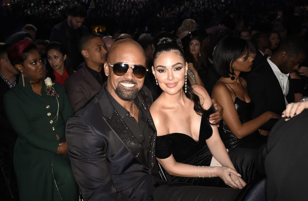 Shemar Moore and girlfriend Anabelle Acosta