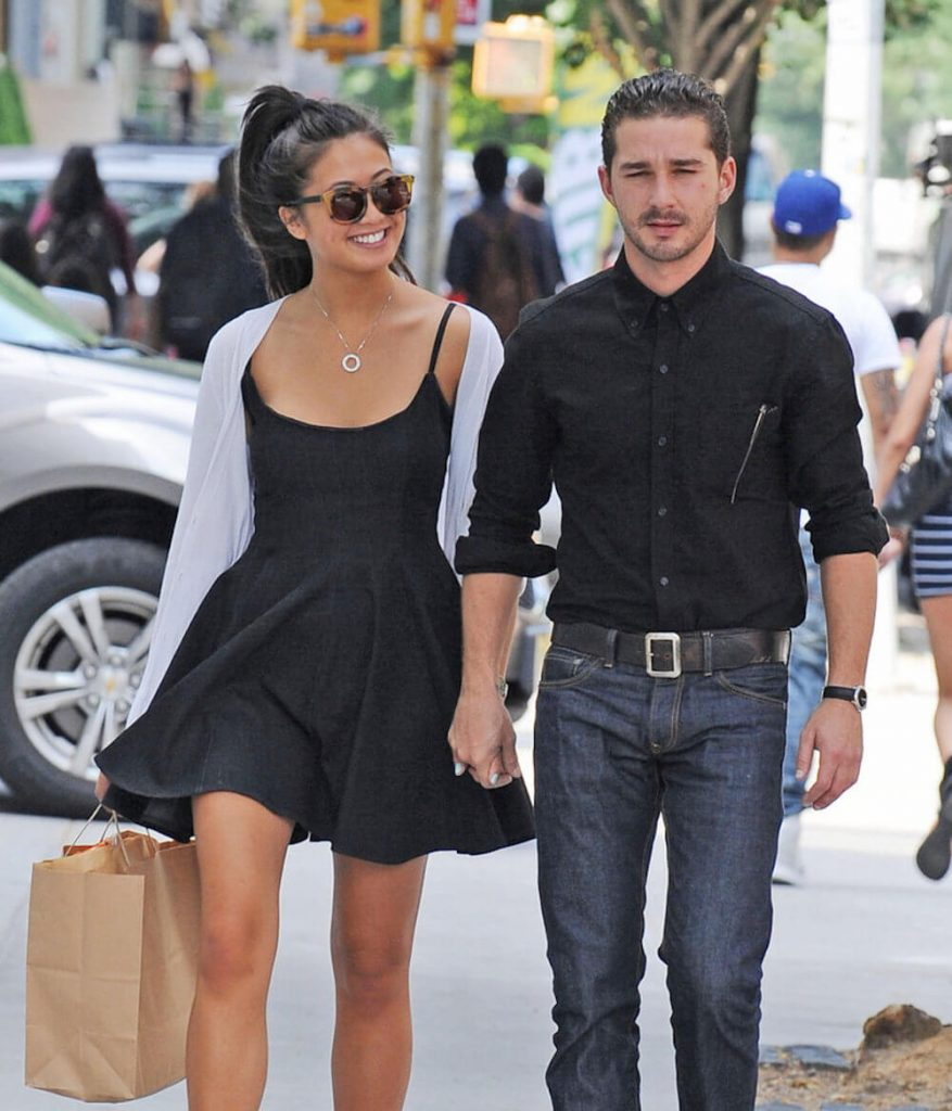 Shia LaBeouf and his ex Karolyn Pho