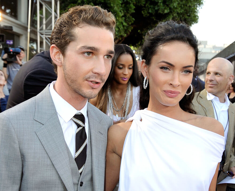 Shia LaBeouf and girlfriend Megan Fox