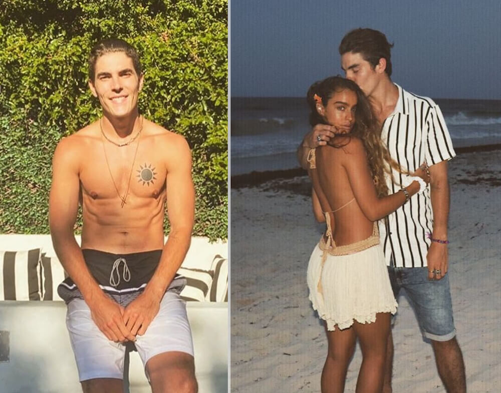 Sommer Ray and ex boyfriend Bennett Sipes