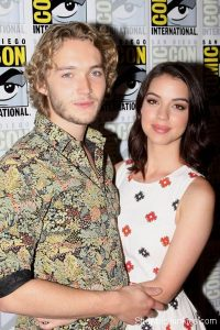 Toby Regbo and his ex girlfriend Adelaide Kane