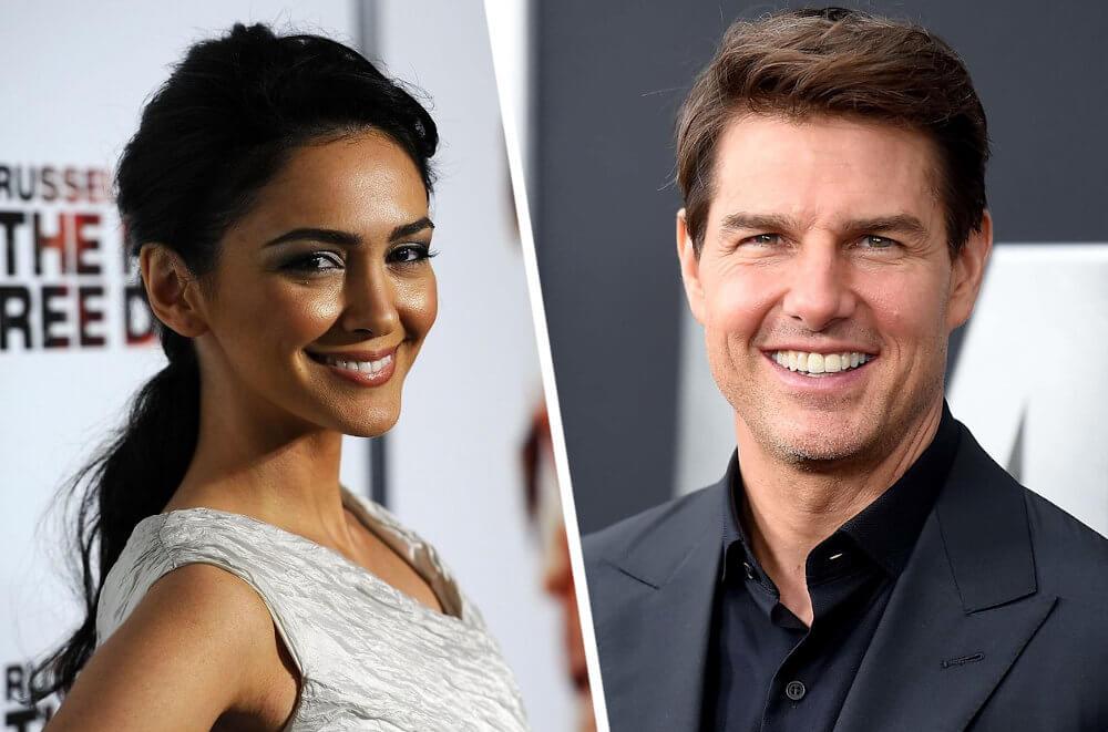 Tom Cruise and ex Nazanin Boniadi