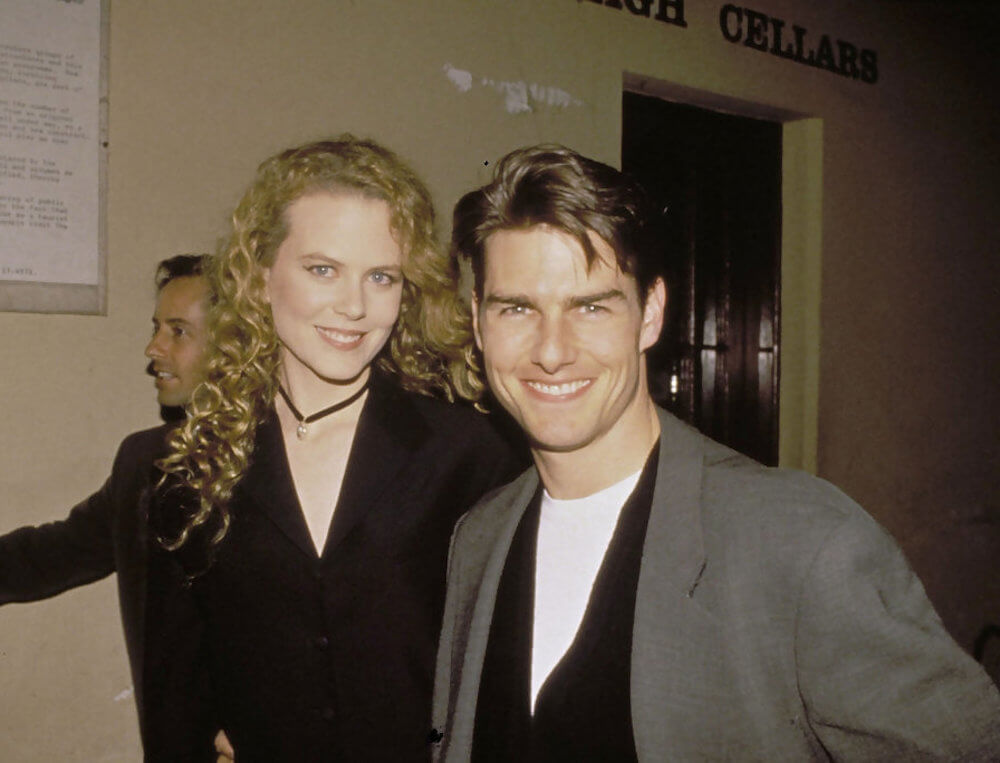 Tom Cruise and ex wife Nicole Kidman