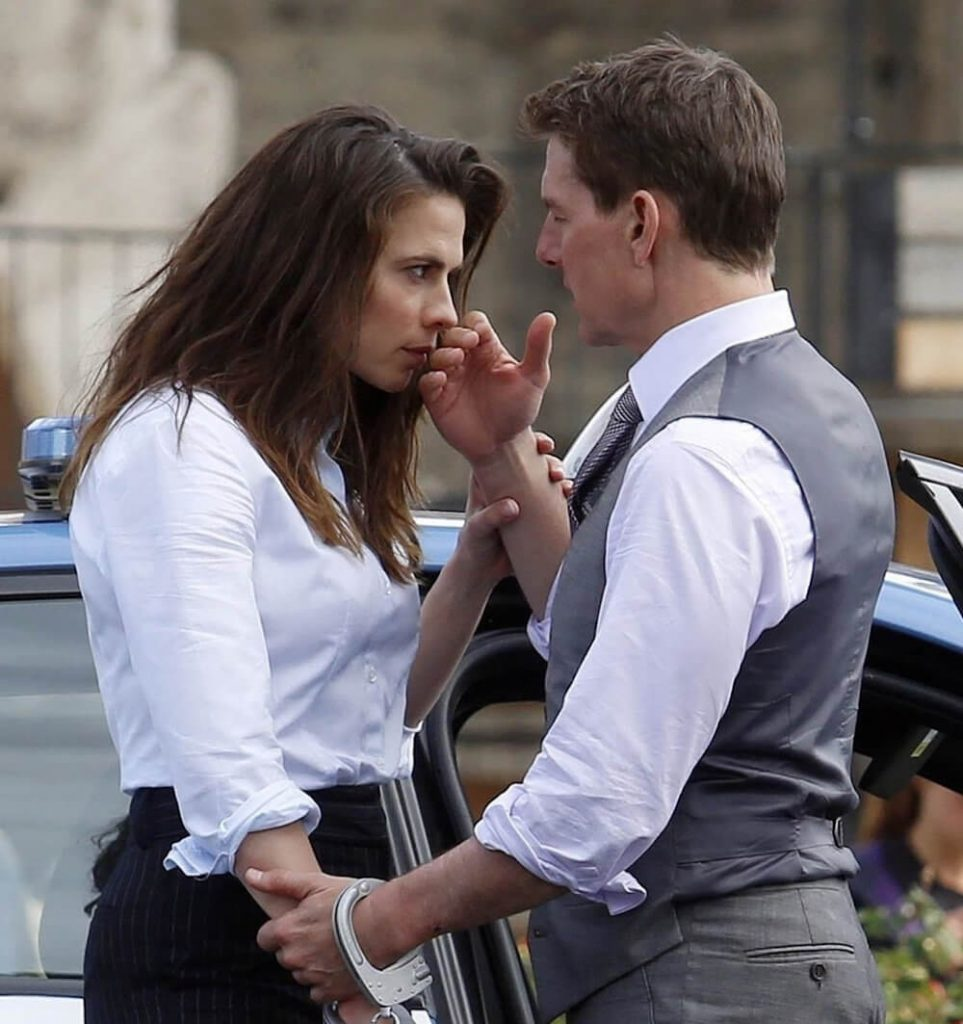 Tom Cruise with rumored girlfriend Hayley Atwell