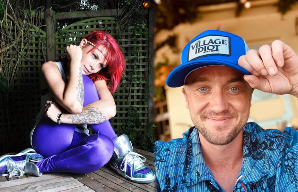 Tom Felton and ex Melissa Tamschick