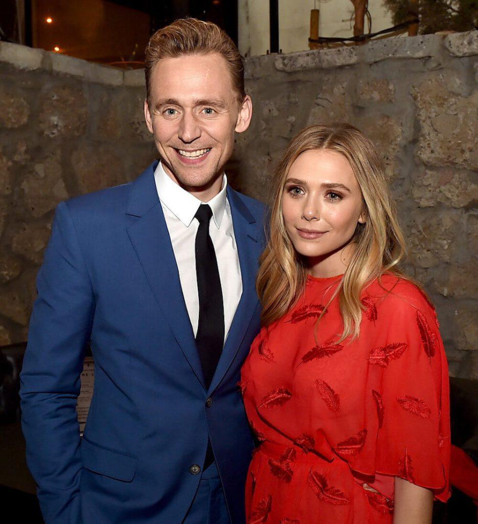 Tom Hiddleston and ex Elizabeth Olsen