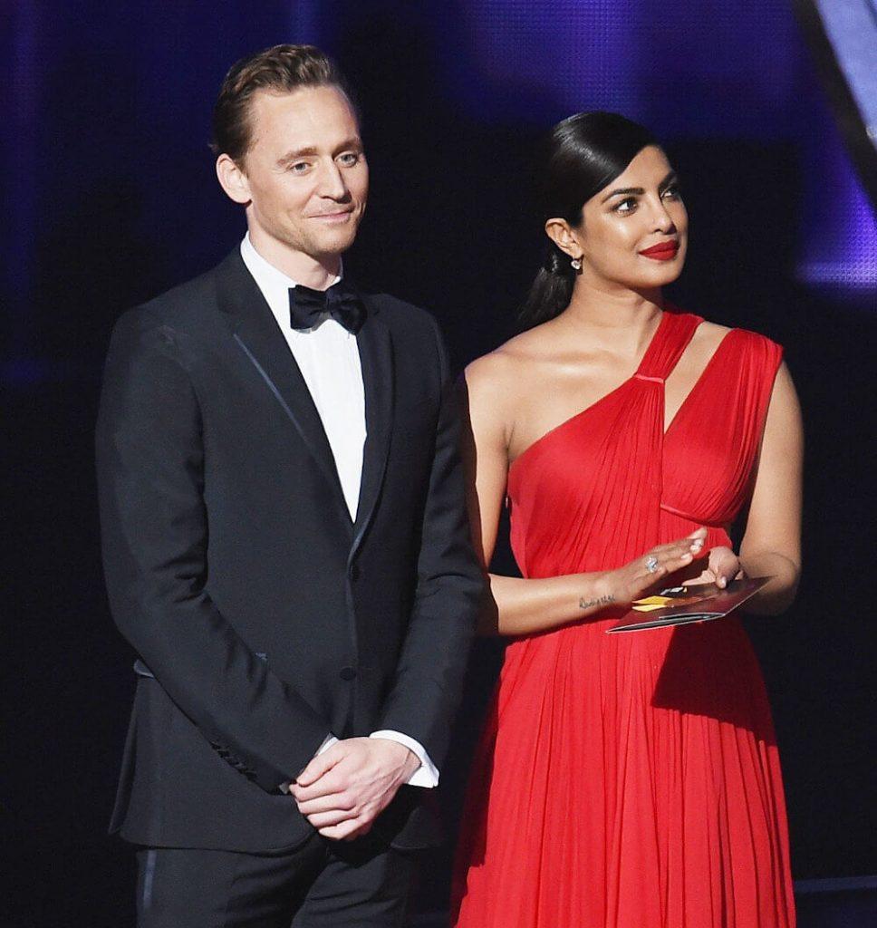 Tom Hiddleston and ex Priyanka Chopra