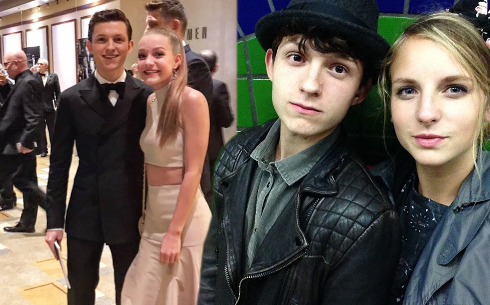 Tom Holland with Elle Lotherington